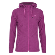 The North Face Women's Mezzaluna Hoody - Raspberry Pose Stripe