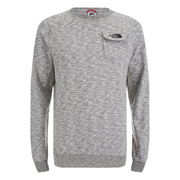 The North Face Men's Long Sleeve Pocket T-Shirt - Medium Grey Heather