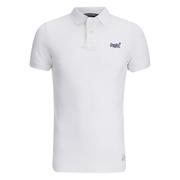 Superdry Men's Vintage Destroyed Polo Shirt - Optic White
