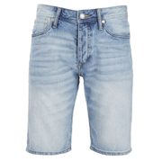 Jack & Jones Men's Originals Rick Denim Shorts - Light Wash