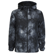 Produkt Men's Lightweight Printed Hooded Jacket - Forest Night
