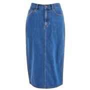 Marc by Marc Jacobs Women's Denim Skirt - Bright Blue