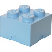 LEGO Aufbewahrungsbox 4 Noppen - Hellblau