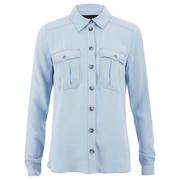 Designers Remix Women's Nova Shirt - Light Blue