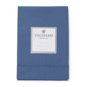 Highams 100% Egyptian Cotton Pillowcase - Steel Blue