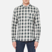 A.P.C. Men's Surchemise Trevor Check Shirt - Ecru