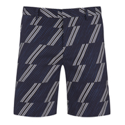 MSGM Men's Print Shorts - Blue