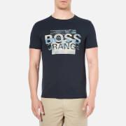 BOSS Orange Men's Terko 1 Logo T-Shirt - Navy