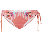 MINKPINK Women's Bloomin Beach Tie Side Bikini Bottoms - Pink