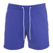 Scotch & Soda Men's Mid Length Swim Shorts - Cobalt