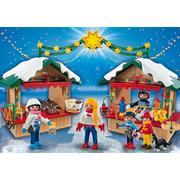 Playmobil Christmas At The Christmas Market (5587)