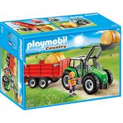 Playmobil Country: Tractor met aanhangwagen (6130)