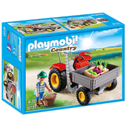 Playmobil Country: Tractor met laadbak (6131)
