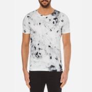 HUGO Men's Durn Printed Crew Neck T-Shirt - White