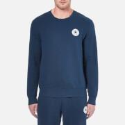 Converse Men's Crew Neck Sweatshirt - Nighttime Navy