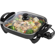 Elgento E14024 Electric Frying Pan - Black - 30cm