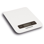 Morphy Richards 79013 Electronic Kitchen Scales - White