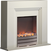 Warmlite WL45023 Bluetooth Fireplace Suite - White