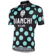 Bianchi Men's Pride Short Sleeve Jersey - Black/Green