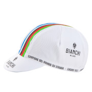 Bianchi Men's Neon Cotton Cap - White/Champ