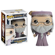 Figurine Pop! Dumbledore avec Baguette Magique Harry Potter