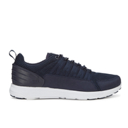 Supra Men's Owen Heel Mesh Trainers - Navy/White