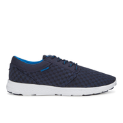 Supra Men's Hammer Run Woven Mesh Trainers - Navy/White