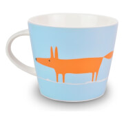 Scion Mr Fox Mug - Orange/Duckegg