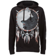 Spiral Men's Wolf Chi Hoody - Black