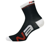 Nalini Logo Socks 9cm - Black