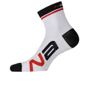 Nalini Logo Socks 13cm - White