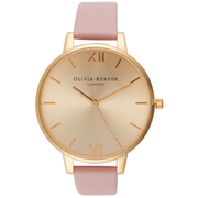 Olivia Burton Women's Big Dial Watch - Dusty Pink/Gold