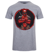 Deadpool Men's Deadpool Camiseta - Gris Sport