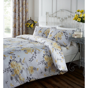 Catherine Lansfield Birdcage Blossom Bedding Set - Ochre