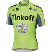 Tinkoff Kids' Short Sleeve Jersey 2016 - Yellow