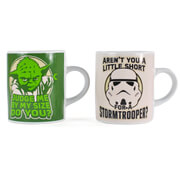Star Wars Yoda and Stormtooper Set of 2 Mini Mug