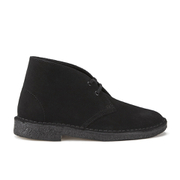 Clarks Originals Women's Suede Desert Boots - Black