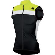 Sportful Pista Sleeveless Jersey - Black/Yellow/White
