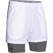 Under Armour Men's Mirage 2 in 1 Training Shorts - White