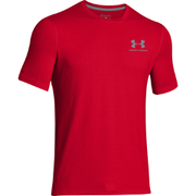 Under Armour Men's Sportstyle Left Chest Logo T-Shirt - Red