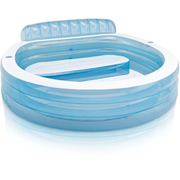 Intex Swim Center Family Lounge Large Paddling Pool