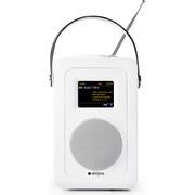 Steljes Audio SA60 Bluetooth DAB+ Portable Wi-Fi Radio (DAB/DAB+/FM) - Matte White
