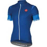 Castelli Entrata 2 Short Sleeve Jersey - Blue