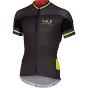 Castelli Free AR 4.1 Short Sleeve Jersey - Black/Yellow
