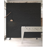 NLXL Materials Wallpaper by Piet Hein Eek - Black Brick