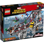 LEGO Superheroes:  Spider-Man: Ultimatives Brückenduell der Web-Warriors (76057)