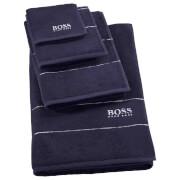 Hugo BOSS Plain Towel Range - Navy
