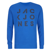 Jack & Jones Men's Core Dylan Crew Neck Sweatshirt - Director Blue
