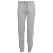 Soul Cal Men's Logo Cuffed Sweatpants - Grey Marl