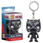Captain America: Civil War Black Panther Pocket Pop! Key Chain
